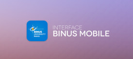 Interface BINUS Mobile