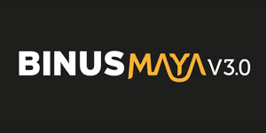 Logo BINUS Maya