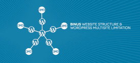 BINUS Website Structure & WP Multisite limitation, How we implement