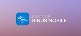 Interface BINUS Mobile